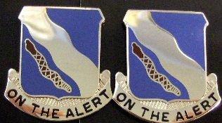 398th REGIMENT BCT Distinctive Unit Insignia - Pair