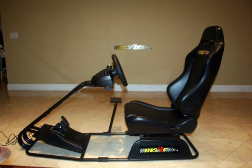 MS4R Home Racing Simulator (Racing Wheel and pedals not included)