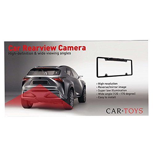 Car Toys Gc670 Automotive Metal License Plate Frame