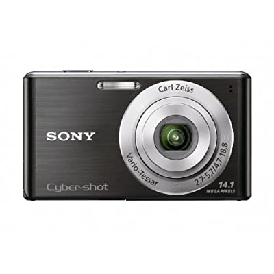 Sony Cyber-Shot DSC-W530 14.1 MP Digital Still Camera with Carl Zeiss Vario-Tessar 4x Wide-Angle Optical Zoom Lens and 2.7-inch LCD (Black)