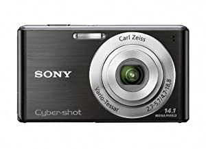 Sony Cyber-Shot DSC-W530 14.1 MP Digital Camera with Carl Zeiss Vario-Tessar 4x Wide-Angle Optical Zoom Lens and 2.7-inch LCD (Black)
