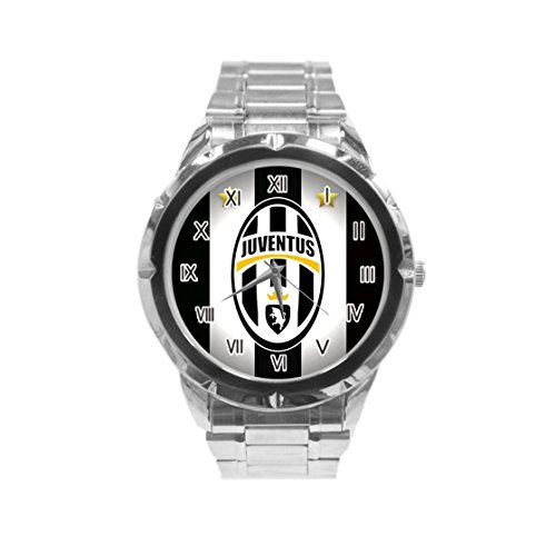 Juventus Photo Custom Fashion Men Wrist Watch Stainless Steel Band Men's Sport Watch HOT (Custom Photo Watch compare prices)
