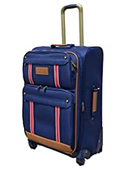 Tommy Hilfiger Berkeley Polyester Navy Luggage Set Medium (TH/BRK08065)