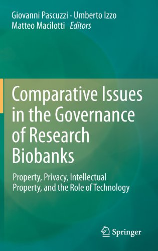 Comparative Issues in the Governance of Research Biobanks: Property, Privacy, Intellectual Property, and the Role of Technology