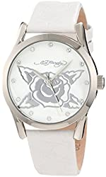 Ed Hardy Tween Beat Street White Panther Youth Watch #BS-WH