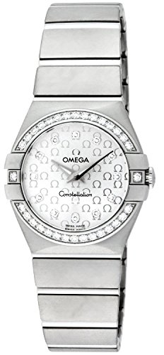 Omega Women's 123.15.27.60.52.001 Constellation Silver Dial Watch
