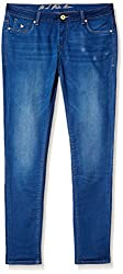 U.S.Polo Assn. Women's Jeggings (UWJN0162_Blue_Large)