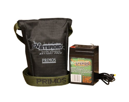 Primos 6V Steroid Trail and Game Camera Battery Pack (Primos Truth 35 compare prices)