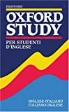 img - for Dizionario Oxford Study Per Studenti D'Inglese (English and Italian Edition) book / textbook / text book