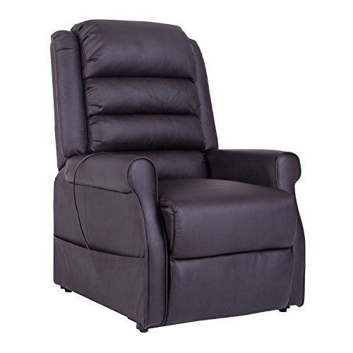 homcom-700-021BN-Fernsehsessel-Massagesessel-Aufstehsessel-Relaxsessel-Lederimitat-braun-83-x-88-x-110-cm