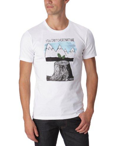 Oxbow Rebornss - T-shirt a maniche corte, da uomo, bianco (bianco), XL