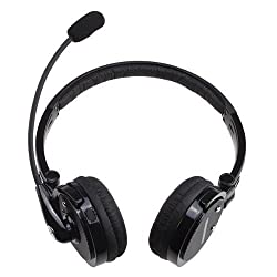 BLUETTEK Stereo Bluetooth Headset With Mic Noise Canceling Wireless Bluetooth Headphones For Mobile Phones iPhone 4S 5,iPad PC PS3
