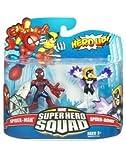 Marvel Super Hero Squad Spider-Man & Spider-Woman