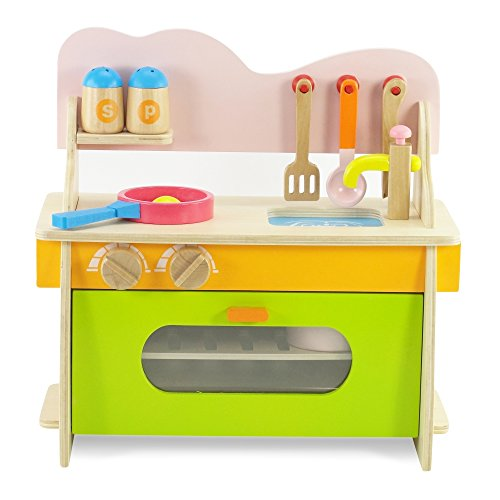 18 Inch Doll Furniture Kitchen Set With Oven Stove Sink And Accessories Fits Americal Girl