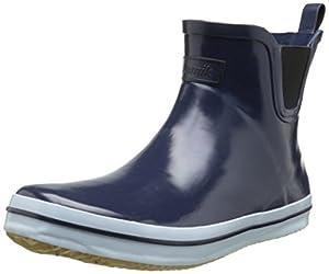 Kamik Women's Sharon Low Rain Boot, Navy, 11 M US