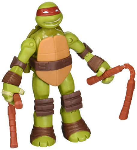 Teenage Mutant Ninja Turtles Battle Shell Mike Action Figure - 1