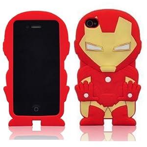 Amazon.com: FLG 3D Stylish Iron Man Soft Silicone Case