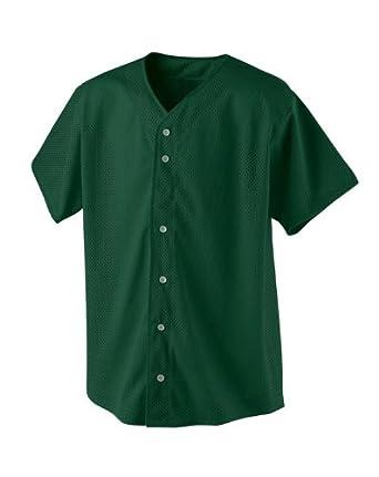 A4 NB4117 Youth Short Sleeve Baseball Shirt - Forest - XL
