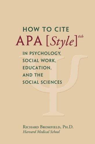 apa style books