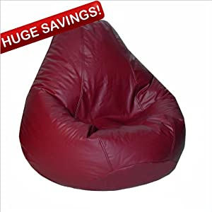Elite Lifestyle Collection Extra Large Bean Bag Chair - Ebony