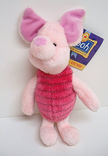 Gund Plush Piglet From the 100 Acre Collection 8113
