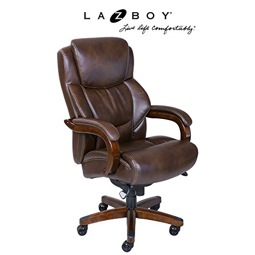 la-z-boy-45833-delano-big-tall-executive-bonded-leather-office-chair-chestnut-brown
