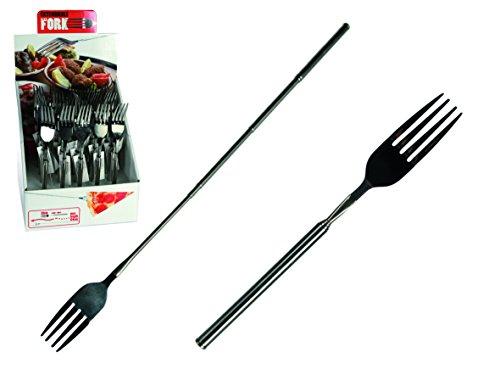 Forchetta Allungabile Estensibile 21-64 Cm. Tavola Posata Utensile Da Cucina