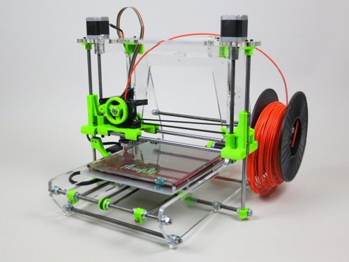 Airwolf 3D Printer AW3D V.5 + 1 LB Filament Assembled Prusa Reprap Repstrap