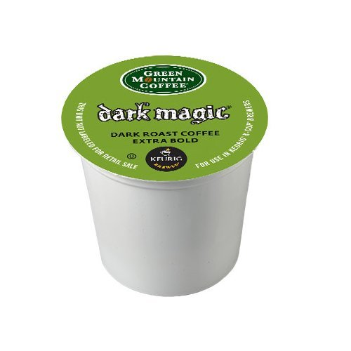 Green Mountain Coffee, Dark Magic (Extra Bold), K-Cup Portion Pack for Keurig K-Cup Brewers 24-Count  (Pack of 2) (Black Magic Coffee K Cup compare prices)