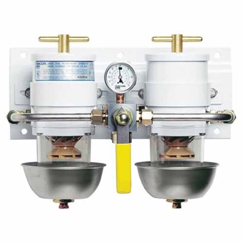 Racor 75500MAX30 Max-Dual Fuel Filter/Water Separator