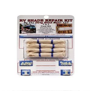 Amazon.com: RV RV Shade Repair Kit, Alabaster, 4-Cord