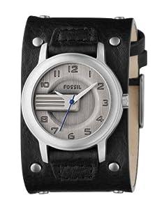 fossil herren armbanduhr analog leder schwarz trend jr9931. Black Bedroom Furniture Sets. Home Design Ideas