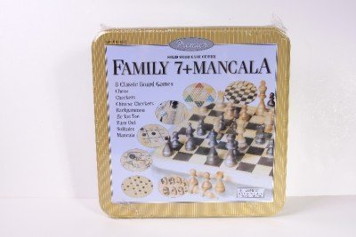 Family 7 Mancala Game Center by Cardinal - 1