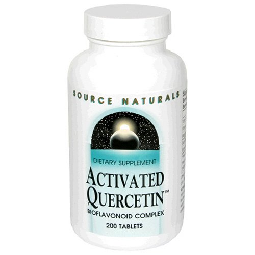 Source Naturals Activated Quercetin, Bioflavonoid Complex, 200 Tablets