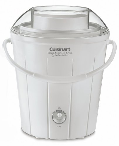 Cuisinart ICE-25 Classic Frozen Yogurt, Ice Cream & Sorbet Maker