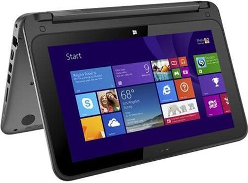 HP Pavilion x360 2-in-1 Convertible 11.6-Inch Touch-Screen Laptop (Intel Quad-Core Pentium N3520 Processor, 4GB DDR3L SDRAM, 500GB HDD, Windows 8.1...