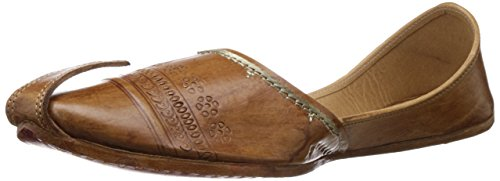 Rangaar Men's Juttis And Mojaris (Green)