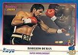 Roberto Duran Trading Card (Boxing) 1991 Kayo #82