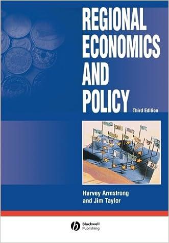 Regional Economics and Policy