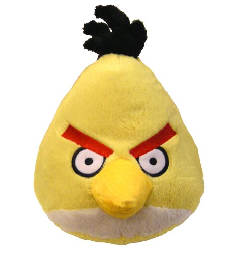 Angry Birds Plush 5-Inch Yellow Bird with Sound - 1