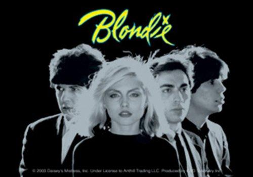Licenses Products Blondie Black Photo Sticker