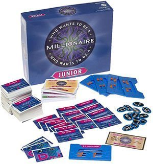 PRESSMAN WHO WANTS TO BE A MILLIONAIRE GAME Board Game Junior - Buy PRESSMAN WHO WANTS TO BE A MILLIONAIRE GAME Board Game Junior - Purchase PRESSMAN WHO WANTS TO BE A MILLIONAIRE GAME Board Game Junior (Pressman, Toys & Games,Categories,Games,Board Games,Trivia Games)