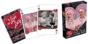 I Love Lucy Friends Playing Cards from Aquarius