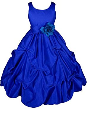 Amazon.com: AMJ Dresses Inc Big Girls' Wedding Flower Girl Pageant