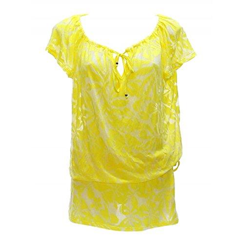 Beachwear Damen Tunika Lotz Warefield Gelb Farbe Gelb Größe L