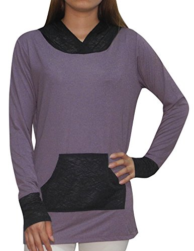 bally-total-fitness-womens-lightweight-yoga-casual-hoodie-sweatshirt-xl-purple