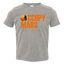 Occupy Mars Space Toddler T-Shirt