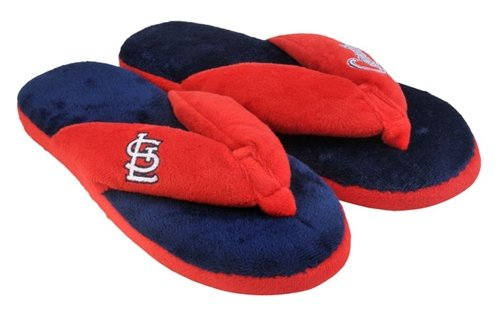 St. Louis Cardinals Slippers - Womens Thong Flip Flop at Amazon.com