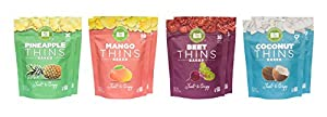 Farmer's Crate Baked Fruit/Veggie Thins, Gluten Free, 8-pack (Mix)