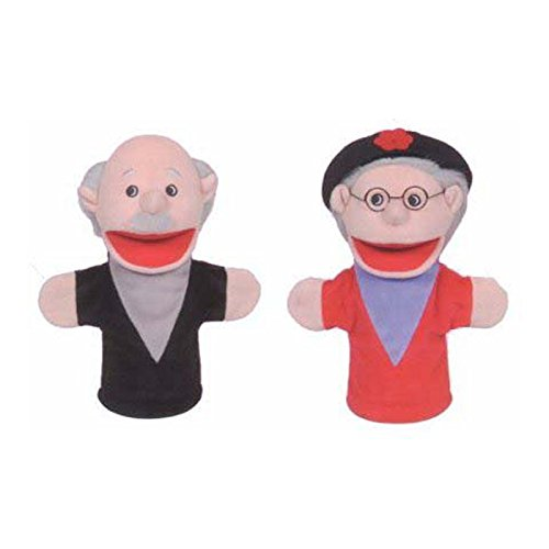 GET READY KIDS FAMILY BIGMOUTH PUPPETS HISPANIC (Set of 6)